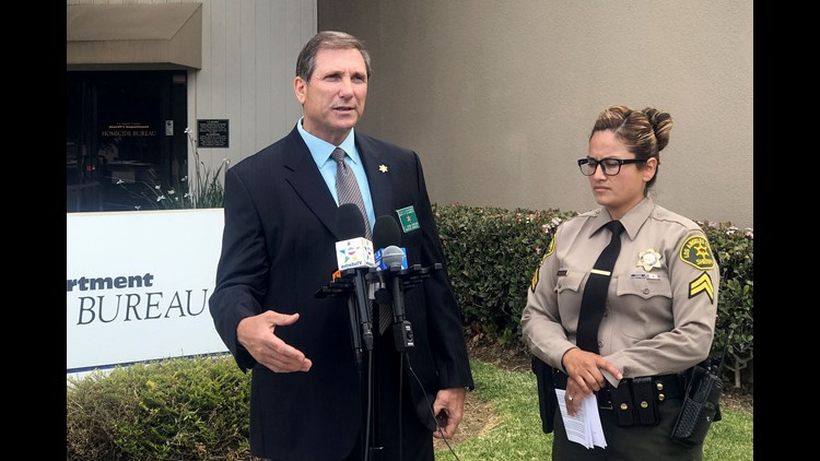 """""""The person who killed him is the one who said, 'Look there here is,'"""" sheriff's homicide Lt. John Corina said."""