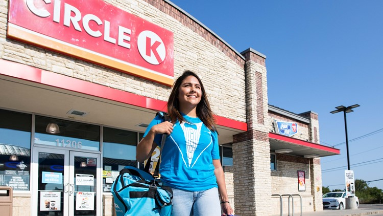 CIRCLE K FAVOR DELIVERY