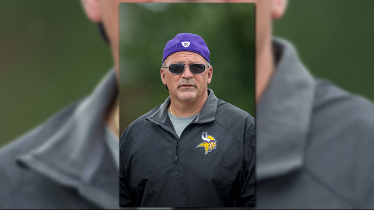 Vikings offensive line coach Tony Sparano died Sunday at his home. The medical examiner report states that the cause of death was heart disease.