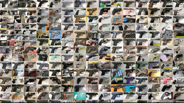 TSA officers are finding more guns than ever before