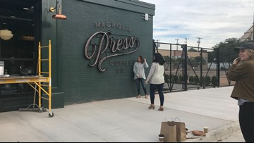 Open for business! Magnolia Press coffee shop opens in downtown Waco