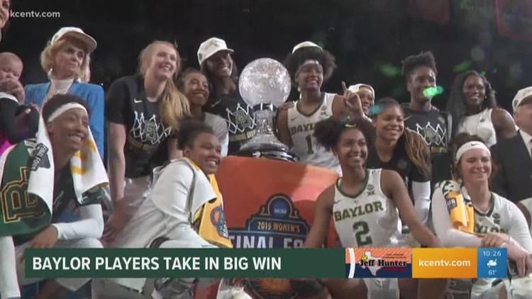Full show Lady Bears win NCAA Tourney 4-8-19