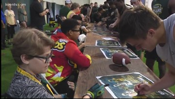 Baylor football holds 4th annual Meet the Bears for Challenger League, No Limitations Waco