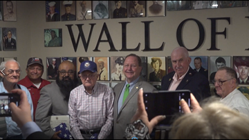Central Texas veterans receive honors from Congressman Bill Flores