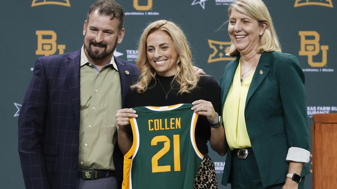 Nicki Collen formally introduced as Baylor women's basketball coach