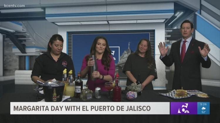 El Puerto de Jalisco in studio for National Margarita Day!