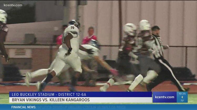Killeen Kangaroos fall to Bryan Vikings in Thursday game