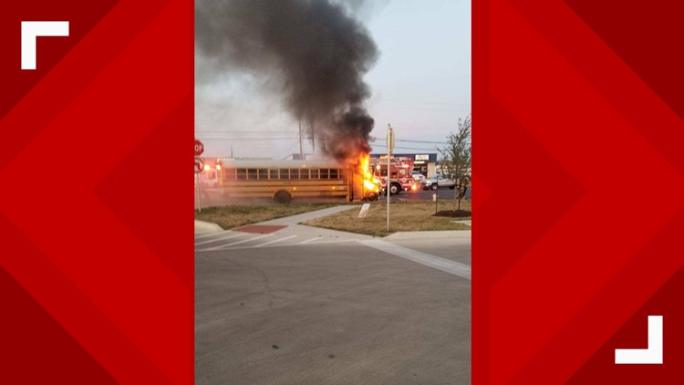 Killeen ISD bus fire 3