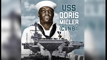 Navy aircraft carrier named after local WWII hero Doris Miller