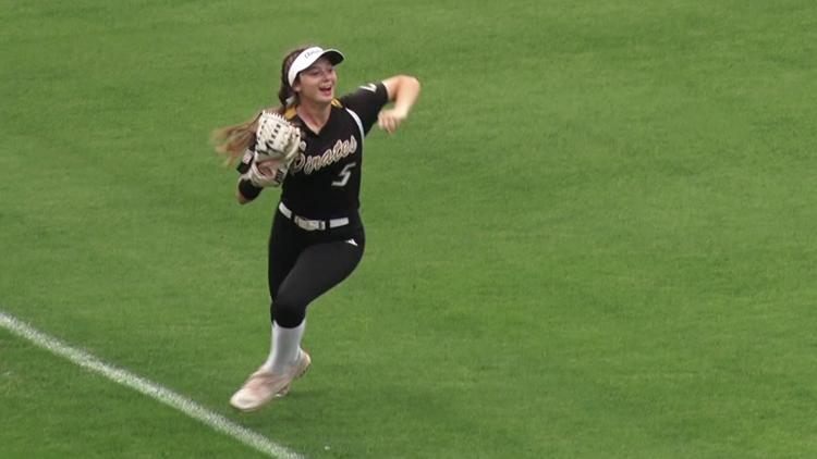 Crawford falls in softball state title game