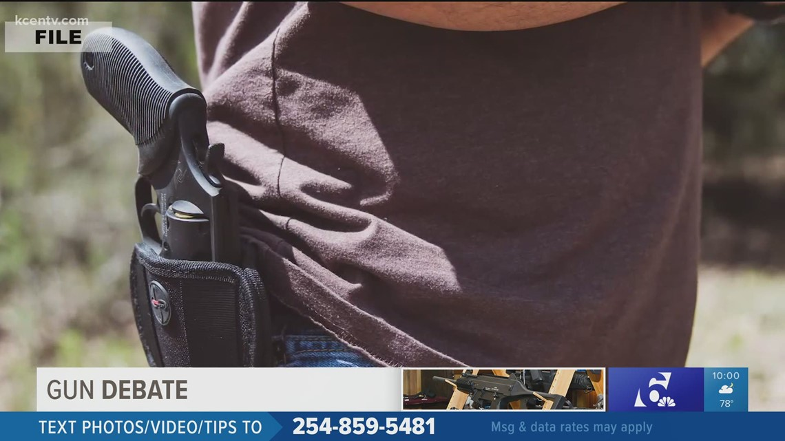 Gun shop owner calls constitutional carry a good thing, still says owners should get permit