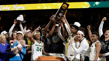 Baylor Lady Bears are national champs after exciting finish in Tampa