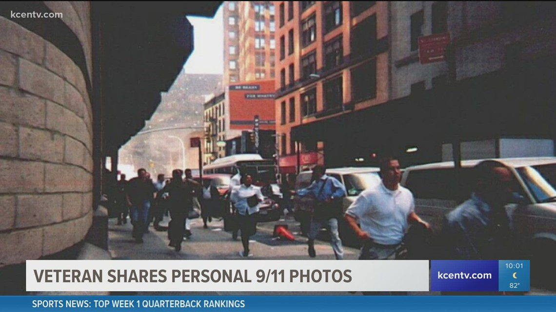 Veteran shares photos of Twin Towers falling on 9/11