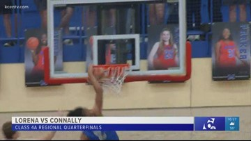 High school boys basketball playoffs: Lorena vs. Connally