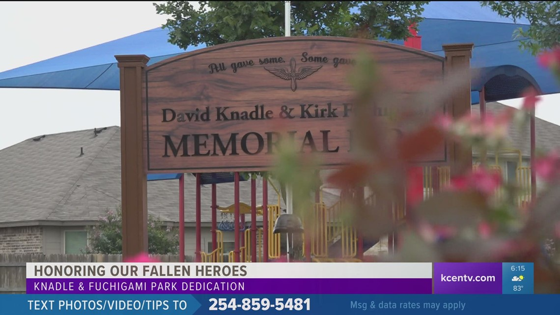 Military Matters   Temple park named after 2 fallen Fort Hood soldiers