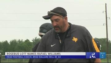 Rosebud Lott names Rafel Williams as head football coach