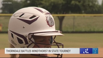 Thorndale battles Windthorst in state tourney