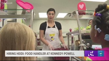 Hiring Heidi: Food handler at Kennedy-Powell