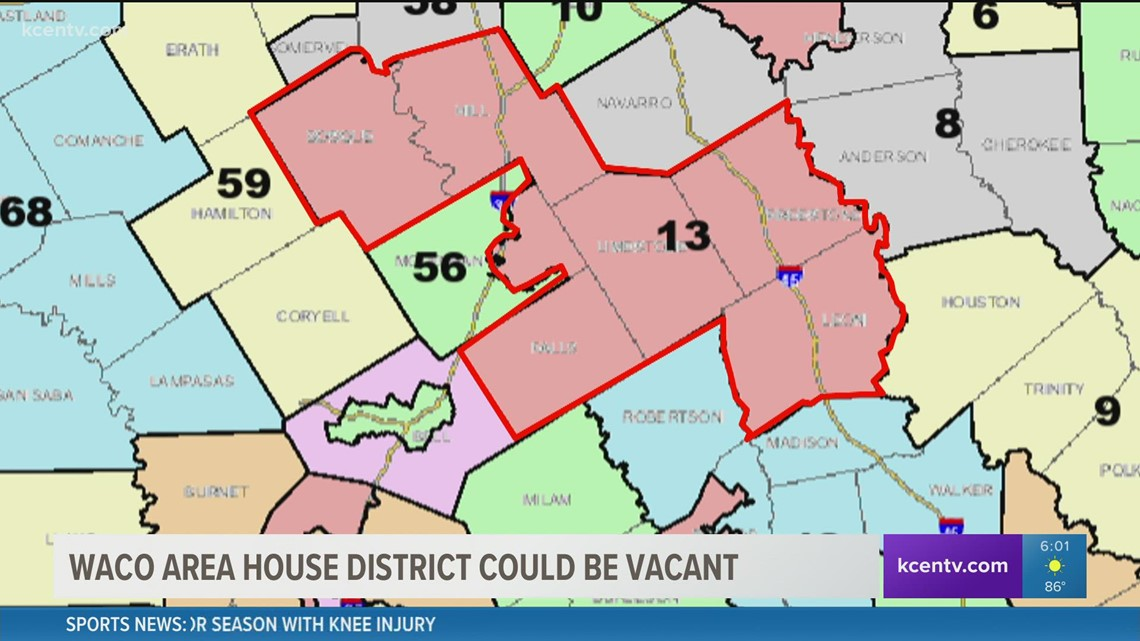 Waco-area house district open to challengers due to redistricting