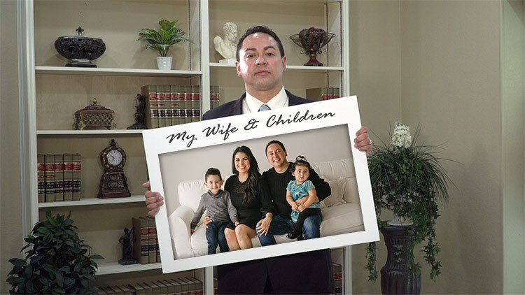 Hector Sabido stands against distracted driving   Refuse to Lose