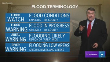 Andy's 6 p.m. forecast: Explaining the difference between flood warnings