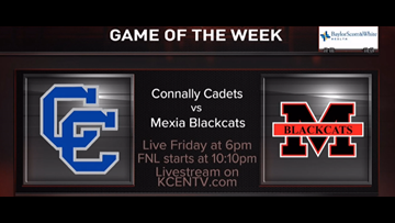 Connally defeats Mexia in the Week 8 Game of the Week