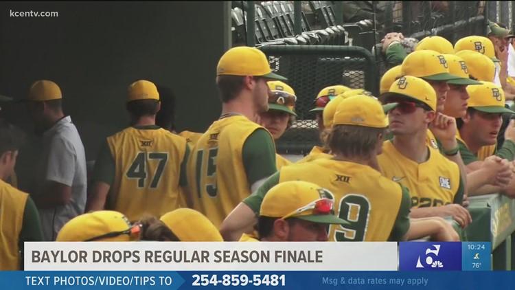Baylor baseball dropped the regular season finale against Oklahoma