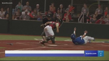Robinson Baseball beats Huffman Hargrave 3-1