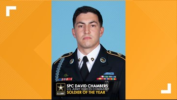 Fort Hood soldier named Soldier of the Year