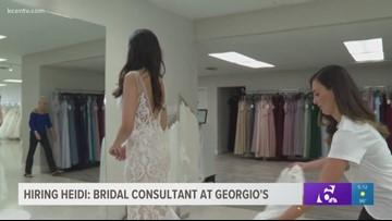 Hiring Heidi: Bridal Consultant at Georgio's