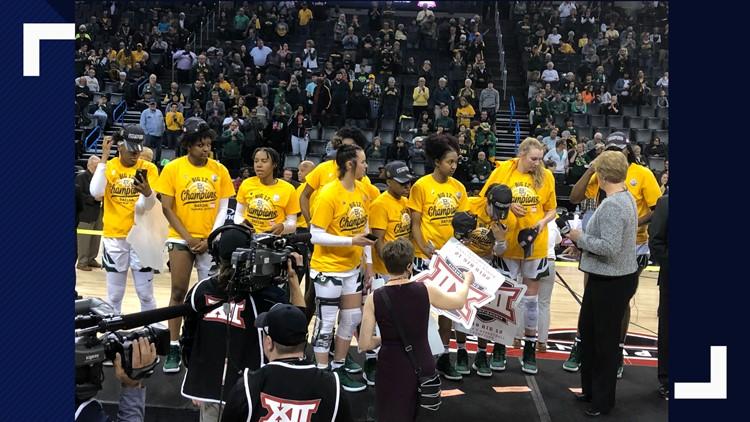 Baylor Lady Bears win Big 12 tournament 2019