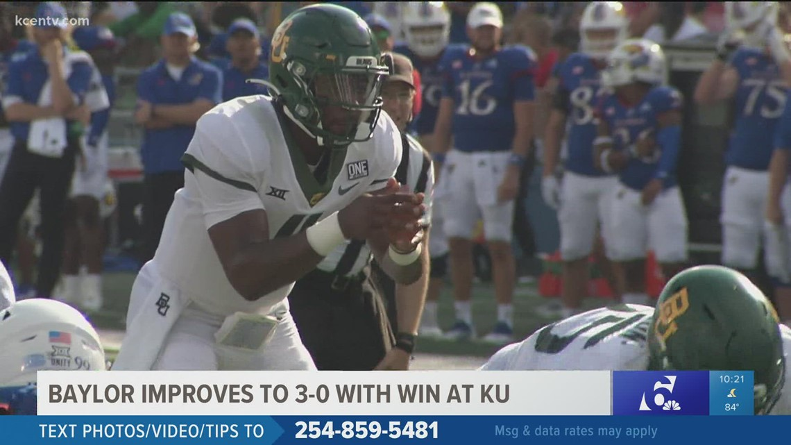 Baylor improves to 3-0 with win at KU
