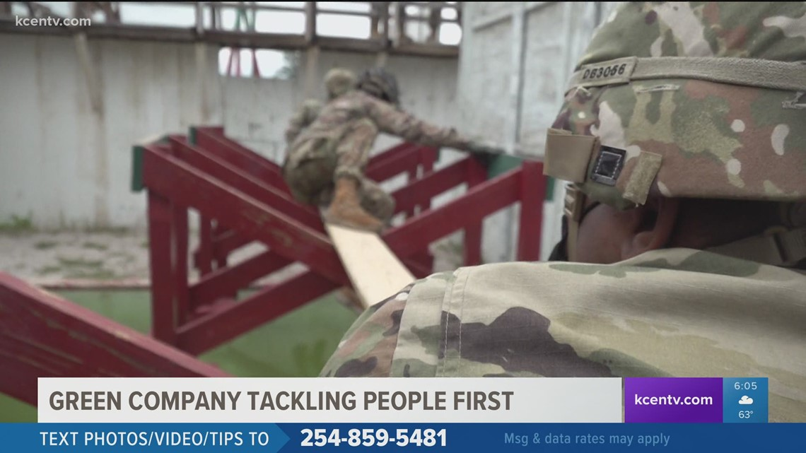 New Green Company program on Fort Hood trains soldiers to put people first