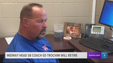 Midway softball coach Ed Trochim to retire