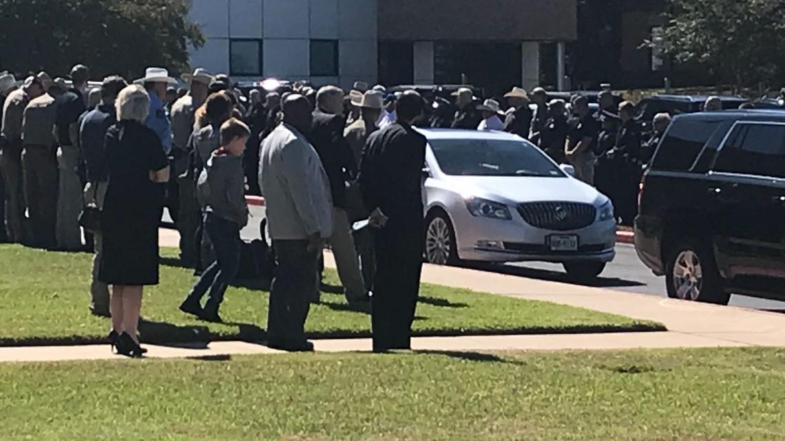 Community Mourns Loss Of Falls Co. K9 Deputy Matt Jones