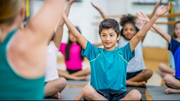 New yoga studio teaching the youngest yogis to 'om'