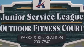 City of Killeen welcomes free outdoor fitness court at Lions Club Park