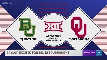 Baylor Baseball excited for Big 12 Tournament