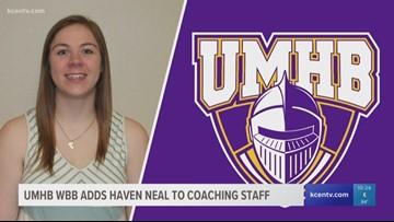 Former UMHB Women's Basketball star Haven Neal joins Cru coaching staff