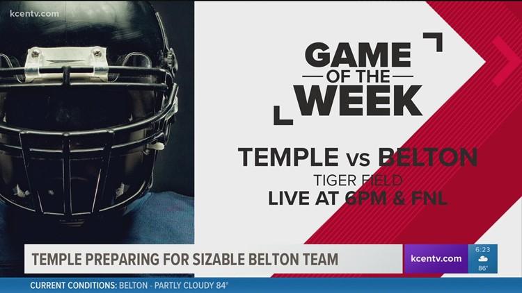 GOTW: Temple preparing for sizable Belton team