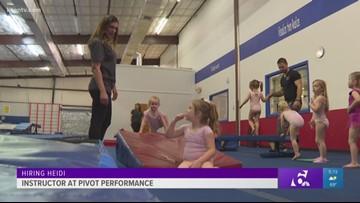 Hiring Heidi: Gymnastics instructor