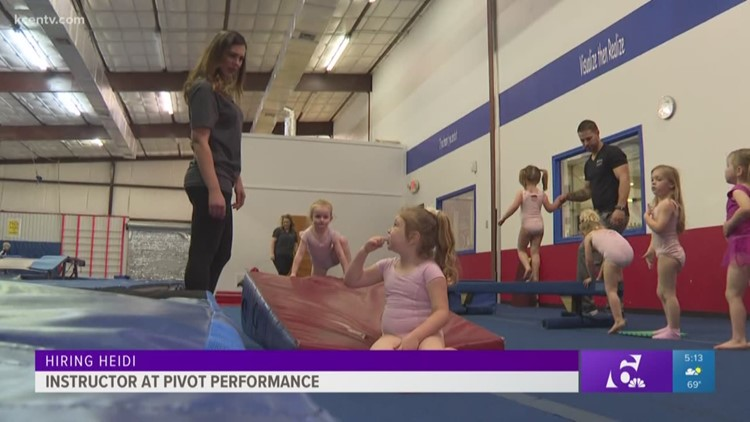 Hiring Heidi: Gymnastics instructor