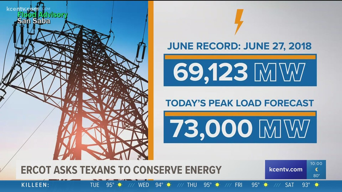 ERCOT asked Texans to conserve energy through Friday