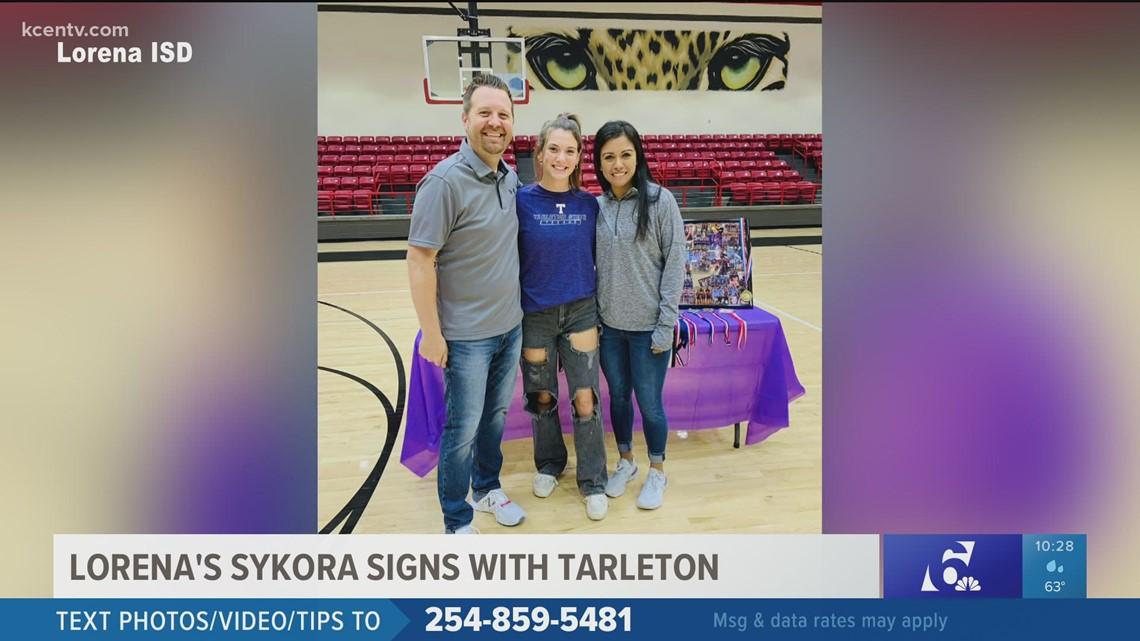 Lorena's Sykora signs with Tarleton