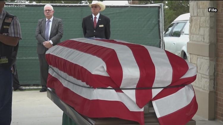 Central Texas State Veterans Cemetery to bury 95th Unaccompanied Veteran