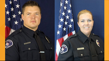 Temple police officers being hailed as heroes after saving teen's life