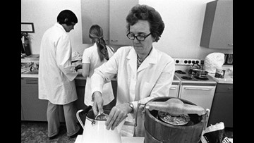 Central Texas woman's research contributed to Space Race
