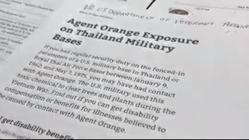 House bill could offer hope to veterans exposed to Agent Orange