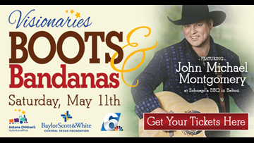 Boots and Bandanas musical event raises money for Baylor Scott & White McLane Children's Medical Center