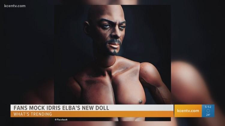 What's Trending: Fans mock new $1K Idris Elba doll